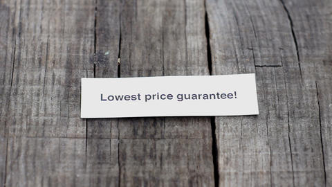 Lowest Price Guarantee Footage