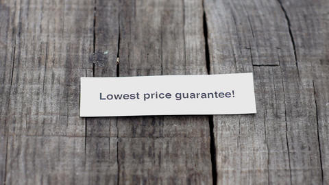 Lowest Price Guarantee Stock Video Footage