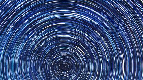 Star tracks. Fisheye. Time Lapse Stock Video Footage