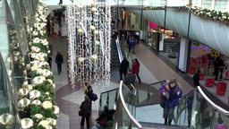 Christmas Shopping 3 Stock Video Footage
