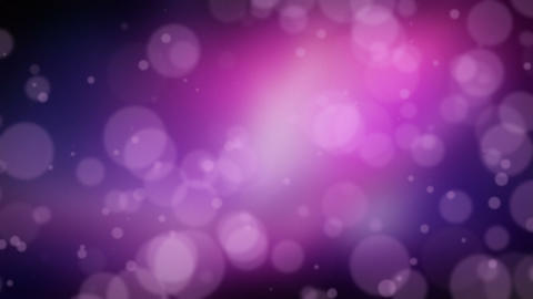 Dark Purple Bokeh Dot Background Animation