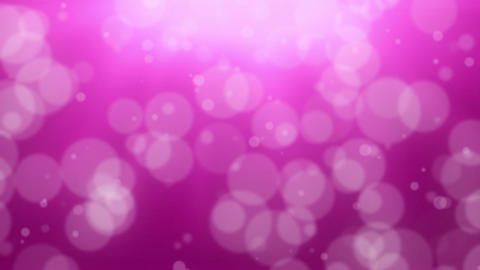 Pink Bokeh Dot Background Stock Video Footage
