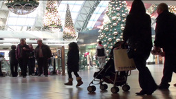 Christmas Shopping 4 Stock Video Footage