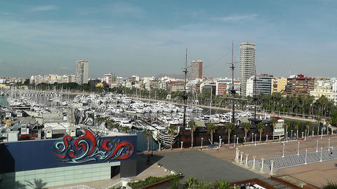 Alicante Spain 2 Footage