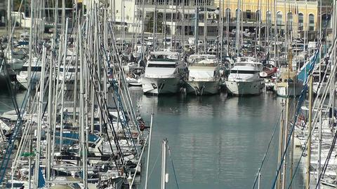 Alicante Spain 8 port Stock Video Footage