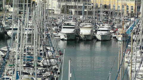 Alicante Spain 8 port Footage