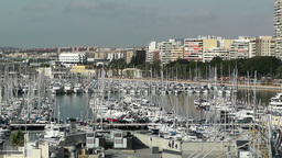 Alicante Spain 10 port Stock Video Footage