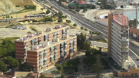 Alicante Spain 12 aerial Stock Video Footage