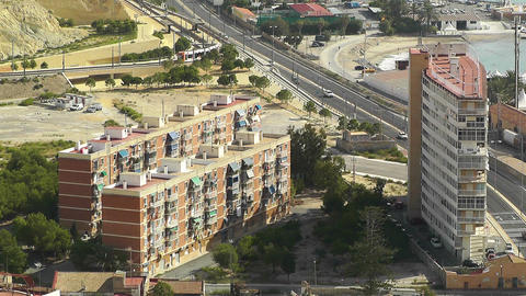 Alicante Spain 12 aerial Footage