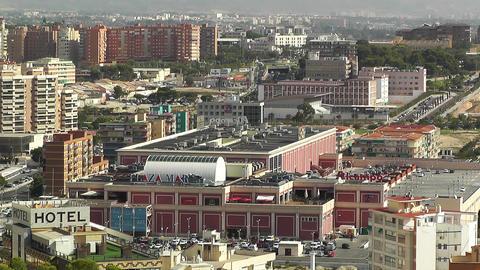 Alicante Spain 14 aerial Stock Video Footage