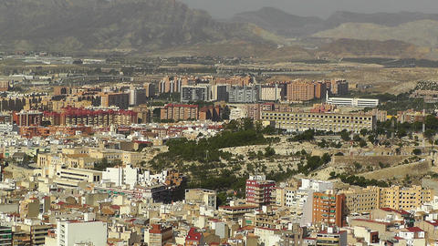 Alicante Spain 20 aerial Stock Video Footage