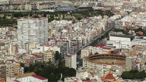 Alicante Spain 30 aerial Stock Video Footage