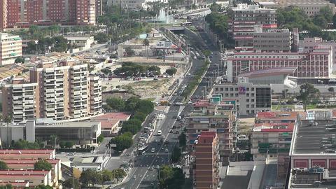 Alicante Spain 32 aerial Stock Video Footage