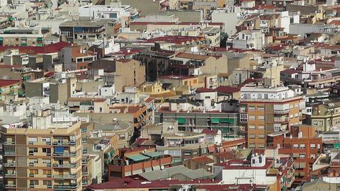 Alicante Spain 34 aerial Stock Video Footage
