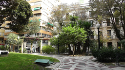 Alicante Spain 38 Plaza Gabriel Miro Stock Video Footage