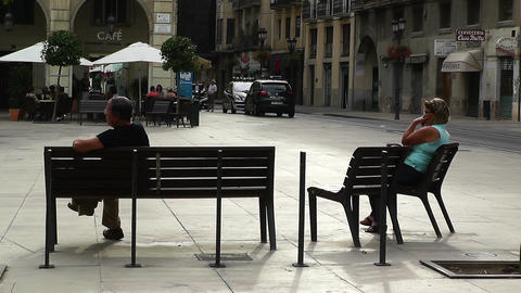 Alicante Spain 62 Placa Ajutament Stock Video Footage