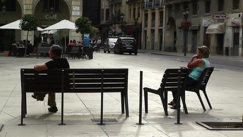 Alicante Spain 62 Placa Ajutament Stock Video Footage
