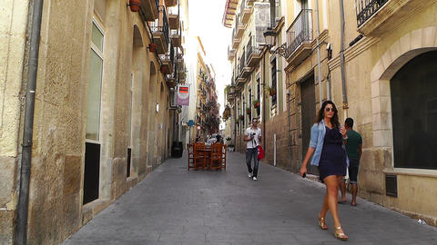 Alicante Spain 77 Stock Video Footage
