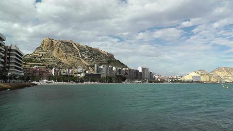 Alicante Spain 87 beach Stock Video Footage