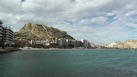 Alicante Spain 87 beach Stock Video Footage