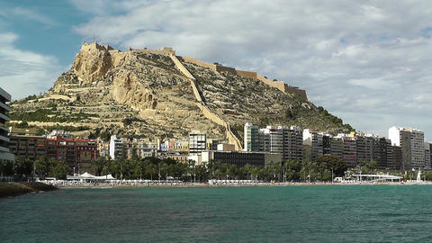Alicante Spain 93 beach Stock Video Footage