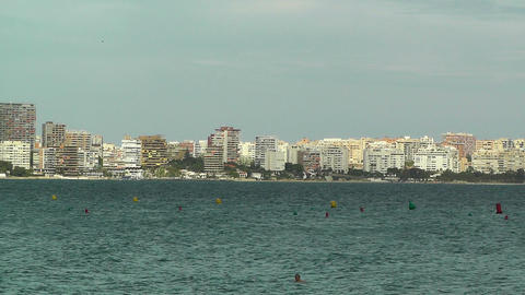 Alicante Spain 95 beach Stock Video Footage