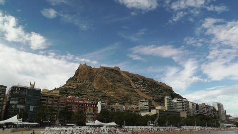 Alicante Spain 102 beach Footage
