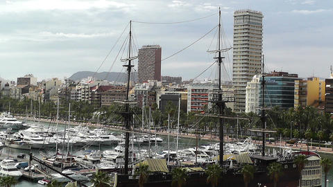 Alicante Spain 106 Footage