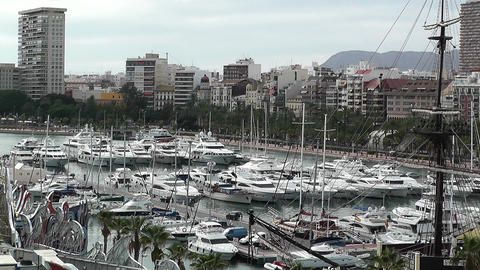 Alicante Spain 108 Stock Video Footage