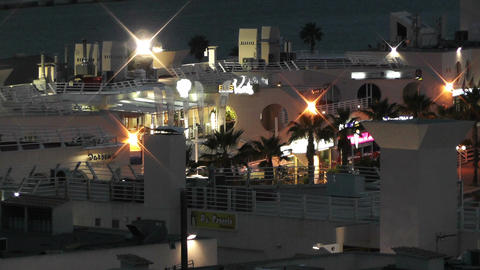 Alicante Spain 117 evening Stock Video Footage