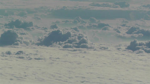 Altocumulus from Above 2 Stock Video Footage