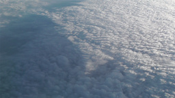 Altocumulus from Above 4 Stock Video Footage