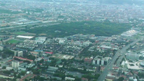 Budapest Aerial 3 Stock Video Footage