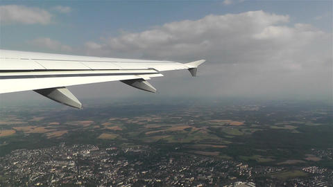 Flying over Sweden 1 Stock Video Footage