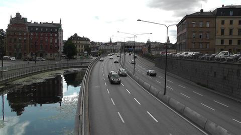 Gamla Stan Stockholm 2013 1 traffic Footage