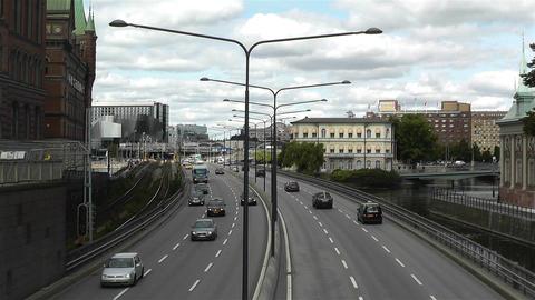 Gamla Stan Stockholm 2013 5 traffic Footage