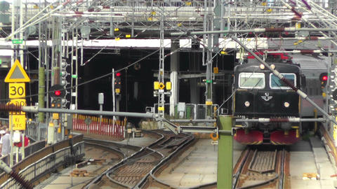 Gamla Stan Stockholm 2013 7 train Footage