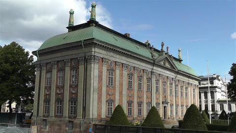 Gamla Stan Stockholm 2013 11 riddarhuset Footage