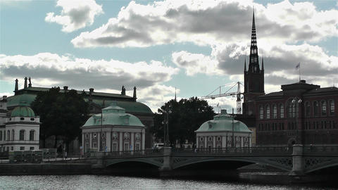 Gamla Stan Stockholm 2013 19 Stock Video Footage