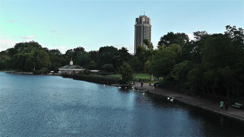 Hyde Park London 3 Stock Video Footage