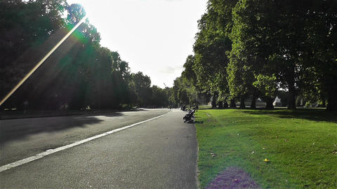 Hyde Park London 15 handheld Footage