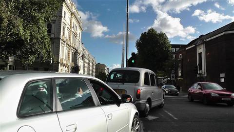 Hyde Park London Kensington Road 20 handheld Footage