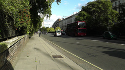 Hyde Park London Kensington Road 24 handheld Footage