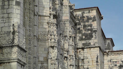 Lisbon Portugal 6 Jeronimos Monastery Stock Video Footage