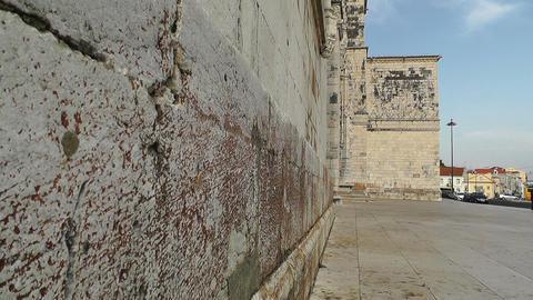 Lisbon Portugal 8 Jeronimos Monastery Footage