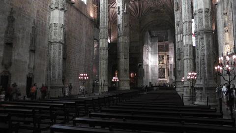 Lisbon Portugal 10 Jeronimos Monastery Footage