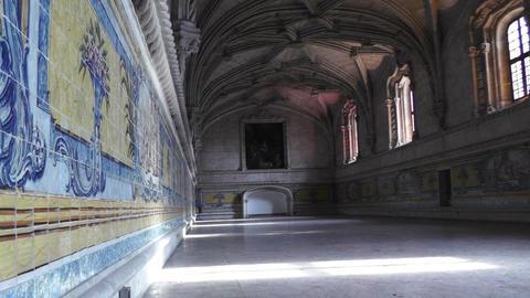 Lisbon Portugal 14 Jeronimos Monastery zoom Stock Video Footage