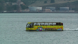 Lisbon Portugal 29 water bus Footage