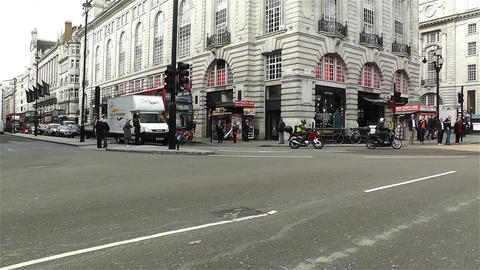 Piccadily Circus London 1 Stock Video Footage