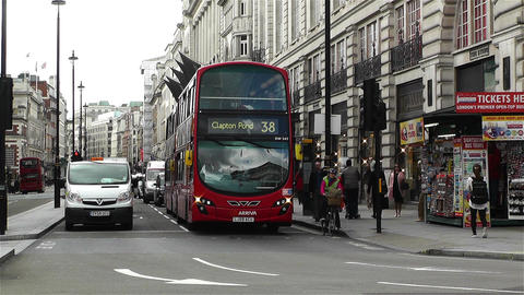 Piccadily Circus London 6 Footage